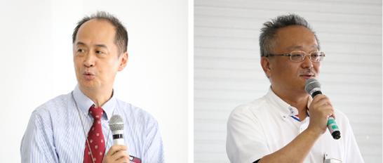 左:佐瀬一洋氏、右:横山 光恒氏
