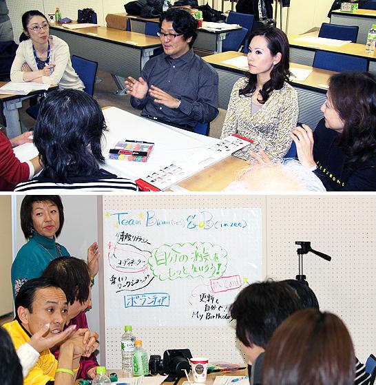 グループ討議「震災とがんーわたしたちの取り組むべきこと」