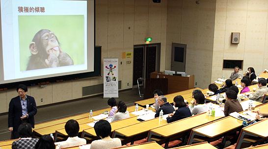 上野直人氏による「がん医療のマイ・ドリーム」の講義