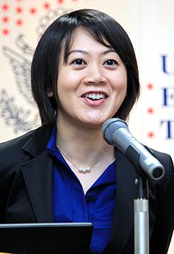 マイ・オンコロジー・ドリーム(MOD)奨励賞の第1回受賞者の増田紘子氏