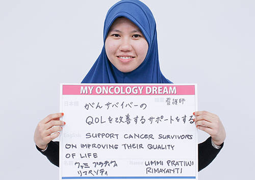 がんサバイバーのQOLを改善するサポートをする ウッミプラティウィリマヤソティさん がんサバイバー